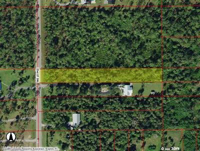 Naples Residential Lots & Land For Sale: 23rd. St SW