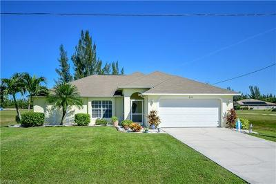 Lee County Single Family Home For Sale: 4105 NW 24th Ter