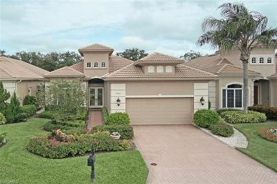 Naples Single Family Home For Sale: 805 Villa Florenza Dr