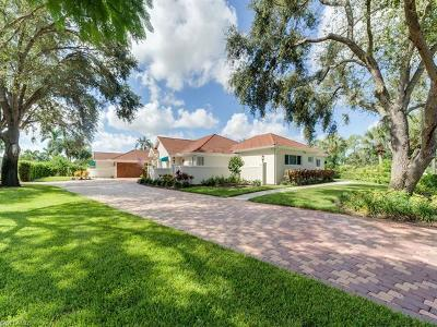 Naples Single Family Home For Sale: 175 Palm River Blvd