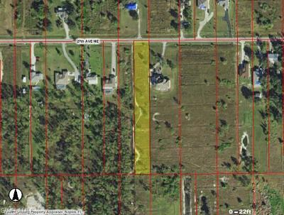 Collier County Residential Lots & Land For Sale: 2848 27th Ave NE