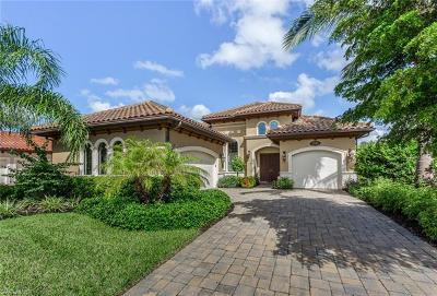 Naples Single Family Home For Sale: 7345 Lantana Way
