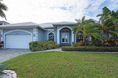 Marco Island Single Family Home Pending With Contingencies: 1057 Bonita Ct