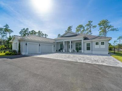 Naples Single Family Home For Sale: 1397 Oakes Blvd