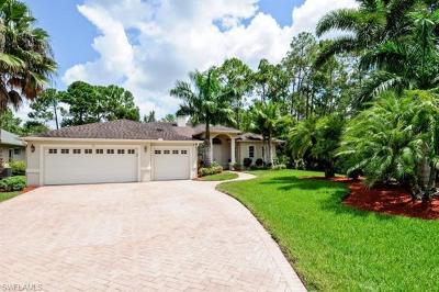 Naples Single Family Home For Sale: 19 Heritage Way