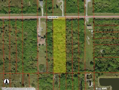 Collier County Residential Lots & Land For Sale: 24th Ave NE