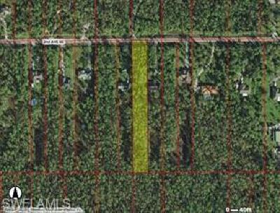 Collier County Residential Lots & Land For Sale: 4280 02nd Ave SE