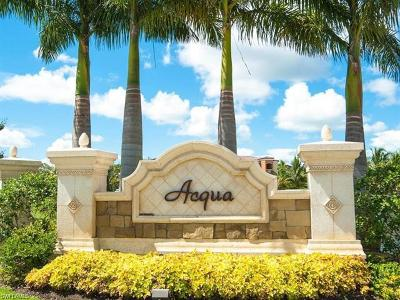 Naples Condo/Townhouse For Sale: 9731 Acqua Ct #541