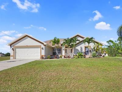 Cape Coral Single Family Home For Sale: 1603 NE 34th Ln