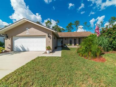 Naples Single Family Home For Sale: 116 Marseille Dr