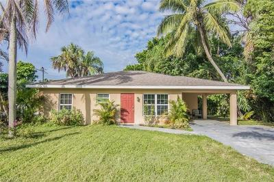Bonita Springs Single Family Home Pending With Contingencies: 27800 Harold St