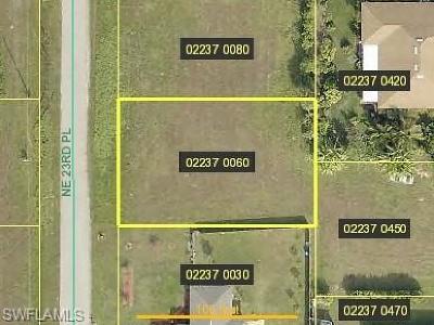 Residential Lots & Land For Sale: 1915 NE 23rd Pl