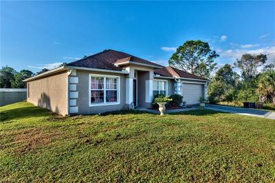 Lehigh Acres Single Family Home For Sale: 767 Barclay Ave