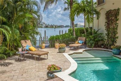 Naples, Bonita Springs Single Family Home For Sale: 201 Harbour Dr #8