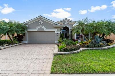 Estero Single Family Home For Sale: 19754 Maddelena Cir