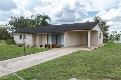 Lehigh Acres Single Family Home For Sale: 10621 Baytree Ct