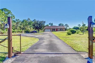Naples, Bonita Springs Single Family Home For Sale: 3496 27th Ave NE