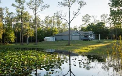 North Fort Myers Single Family Home For Sale: 9830 Quail Run