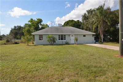 Bonita Springs Single Family Home Pending With Contingencies: 27390 Pullen Ave
