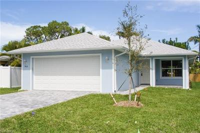 Naples Park Single Family Home For Sale: 743 108th Ave N