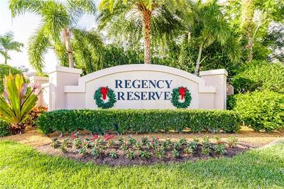 Naples Condo/Townhouse For Sale: 848 Regency Reserve Ct #2-201