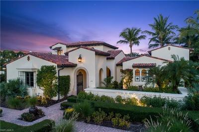 Naples FL Single Family Home For Sale: $2,950,000