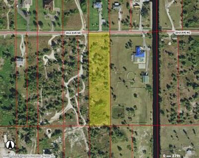 Naples Residential Lots & Land For Sale: 0000 22nd Ave NE
