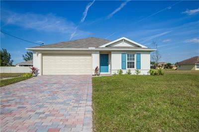 Cape Coral Single Family Home For Sale: 1803 NW 13th St