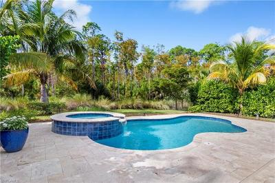 Naples Single Family Home Pending With Contingencies: 16351 Halberry Ln
