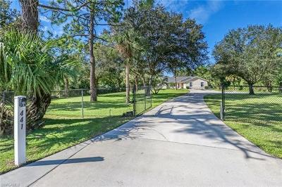 Golden Gate City, Golden Gate Estates, Golden Gate Prof Bldg Single Family Home For Sale: 441 11th St SW