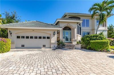 Marco Island Single Family Home For Sale: 205 N Barfield Dr
