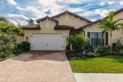 Naples Single Family Home For Sale: 14398 Tuscany Pointe Trl
