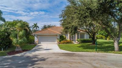 Naples Single Family Home Pending With Contingencies: 819 Willow Springs Ct