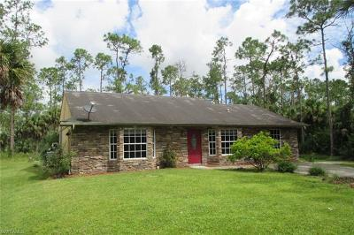 Naples FL Single Family Home Pending With Contingencies: $229,000