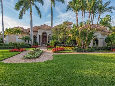 Naples FL Single Family Home For Sale: $3,300,000