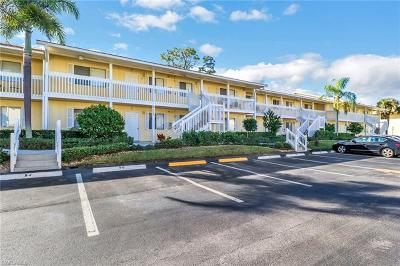 Naples Condo/Townhouse Pending With Contingencies: 4625 Bayshore Dr #D12