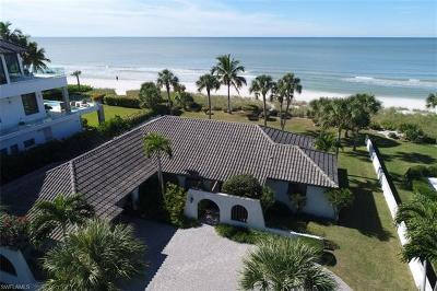 Naples, Marco Island, Sanibel, Captiva, Sarasota, Longboat Key, Nokomis, Osprey, Boca Grande Single Family Home Pending With Contingencies: 10135 Gulf Shore Dr