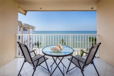 Naples Condo/Townhouse For Sale: 3443 Gulf Shore Blvd N #812