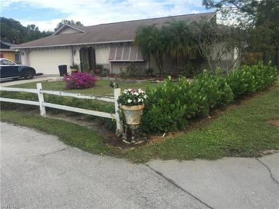 Bonita Springs Single Family Home For Sale: 27983 Temple Terrace Dr