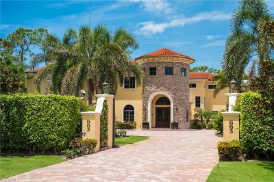 Naples, Marco Island, Sanibel, Captiva, Sarasota, Longboat Key, Nokomis, Osprey, Boca Grande Single Family Home For Sale: 663 Hickory Rd
