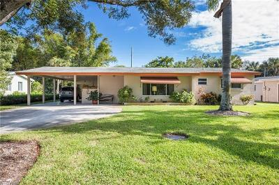 Naples Single Family Home For Sale: 1254 13th St N