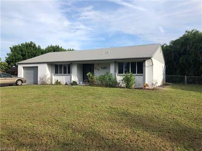 Lee County Single Family Home For Sale: 2841 SE 17th Ave