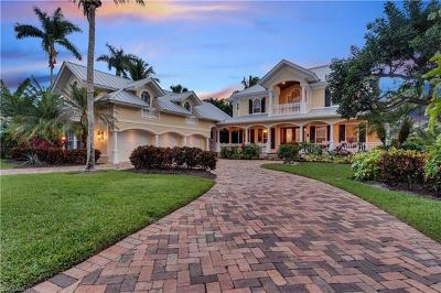 Olde Naples Single Family Home For Sale: 250 North Lake Dr