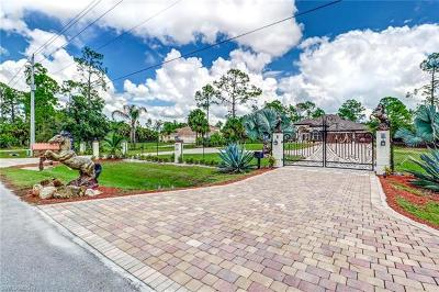 Naples, Bonita Springs Single Family Home For Sale: 610 21st St NW