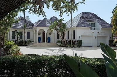 Naples, Marco Island, Sanibel, Captiva, Sarasota, Longboat Key, Nokomis, Osprey, Boca Grande Single Family Home For Sale: 1390 Spyglass Ln