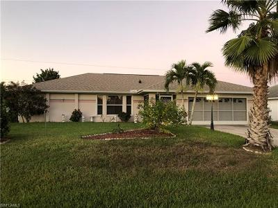Fort Myers Single Family Home For Sale: 8409 Tahiti Rd