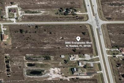 Naples Residential Lots & Land For Sale: 3065 Everglades Blvd N