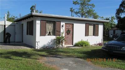 Naples FL Single Family Home For Sale: $205,000