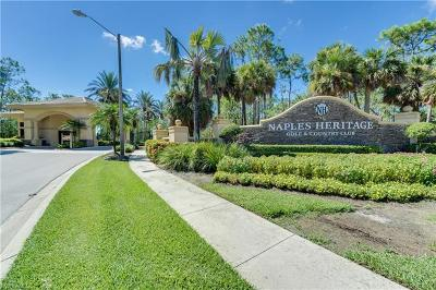 Naples Condo/Townhouse For Sale: 7505 Stoneybrook Dr #738