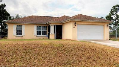 Lee County Single Family Home For Sale: 3021 4th St W